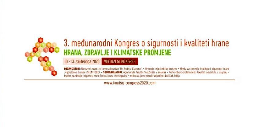 3. Međunarodni kongres o sigurnosti i kvaliteti hrane od 10.do 13. novembra