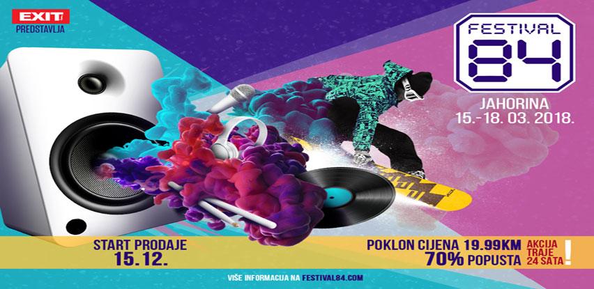 EXIT + Olimpijska Jahorina = Festival 84 i čak 70% uštede na prve ulaznice!