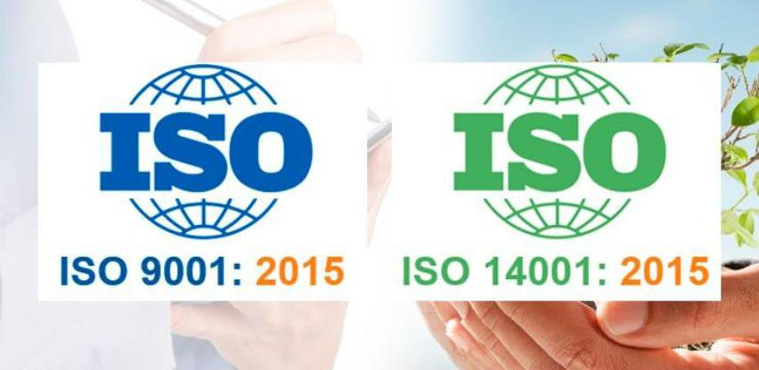 Obuke za interne i eksterne auditore ISO 9001:2015 i ISO 14001:2015