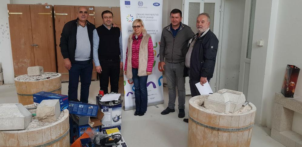 EU i ILO ojačali kapacitete Centra za kamen
