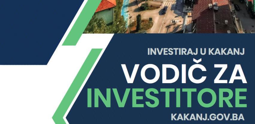 Kakanj objavio vodič za investitore: Ovo su lokacije i pogodnosti koje nude