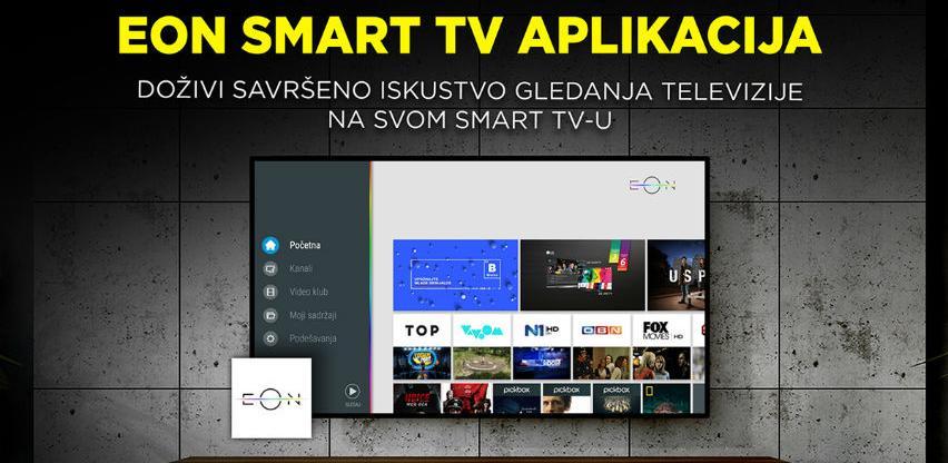 EON - jedina televizija preko Smart TV aplikacije