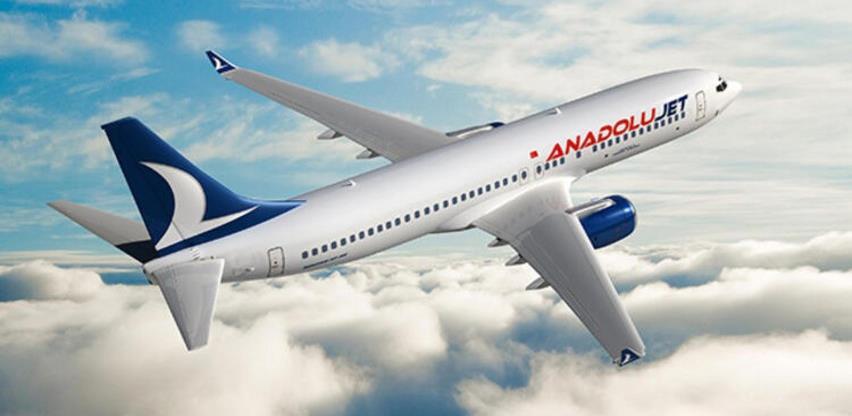 AnadoluJet počinje letove za Sarajevo