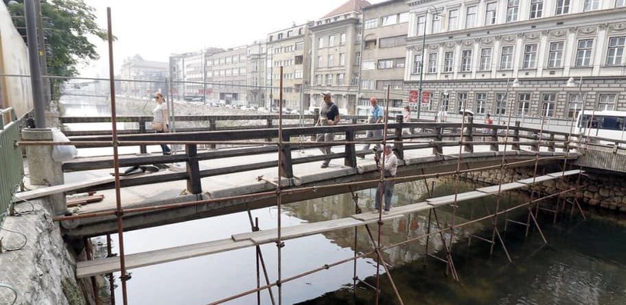 Počela obnova Drvenija mosta