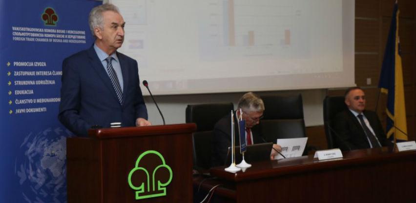 U 2018. obim vanjskotrgovinske razmjene roba BiH 31,8 milijardi KM