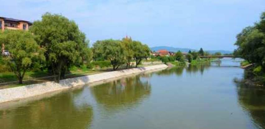 Završeni radovi na uređenju lijeve obale Bosne u Žepču