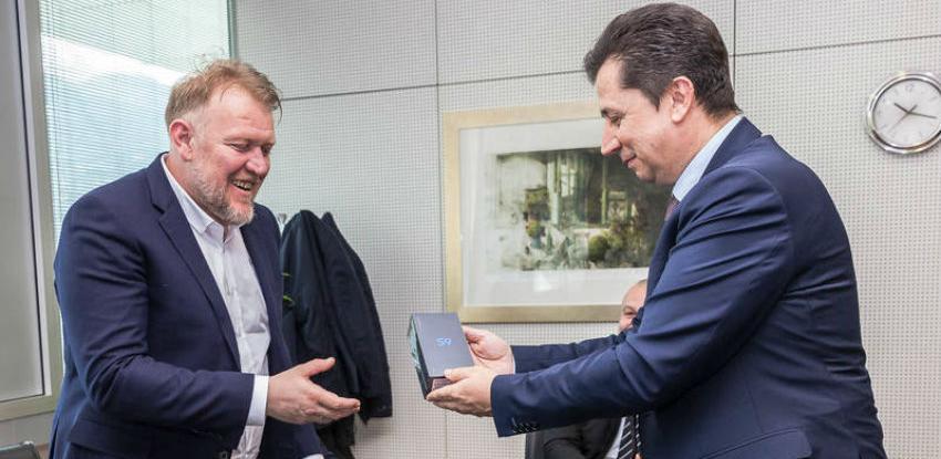 Selektor Robert Prosinečki u posjeti BH Telecomu