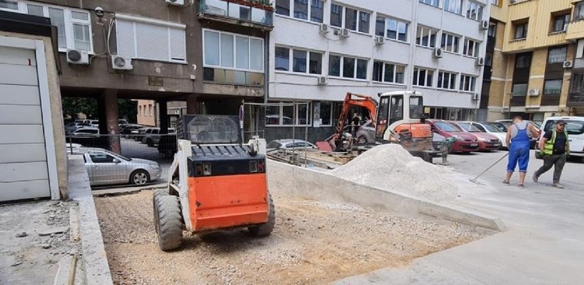 Uređenje pješačke zone u Radićevoj ulici