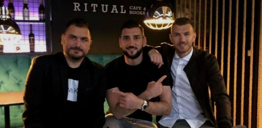 Edin Džeko u Dubrovniku otvorio nargila bar