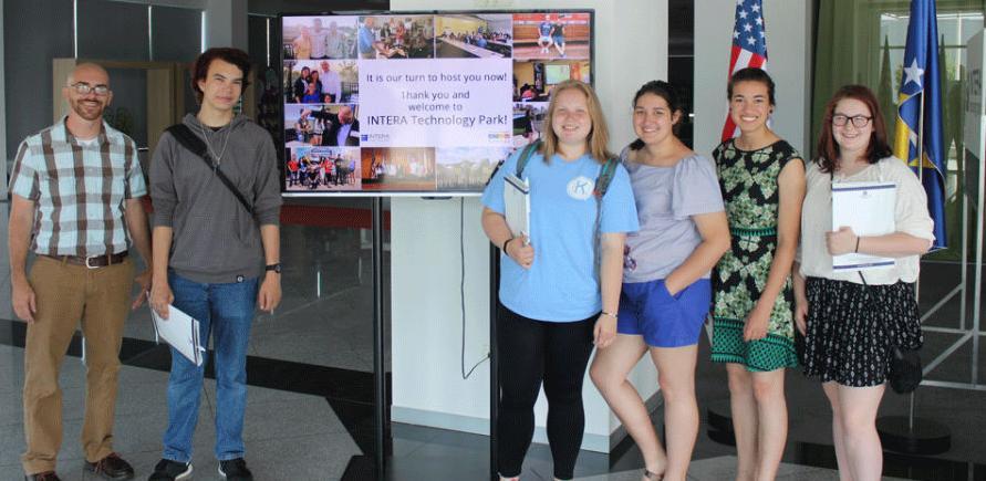 INTERA TP uzvraća gostoprimstvo: Stigla grupa učenika iz Daytona