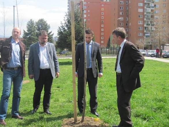 Završetak projekat uređenja zelenih površina u Novom Gradu