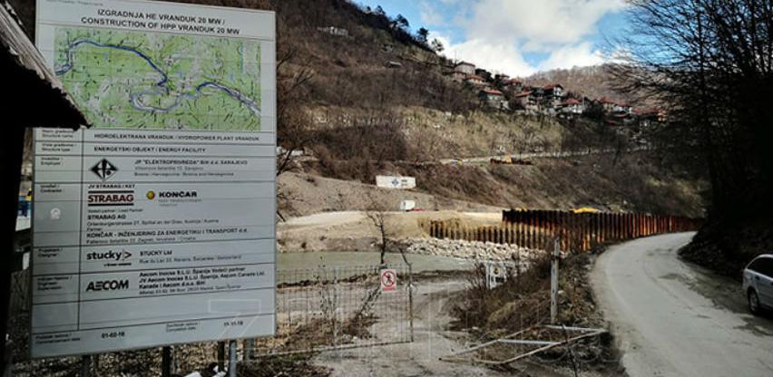 Tri puta polagan kamen temeljac za hidroelektranu koja neće biti izgrađena