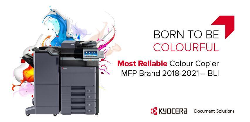 KYOCERA proglašena kao najpouzdaniji brend za multifunkcijske uređaje u boji
