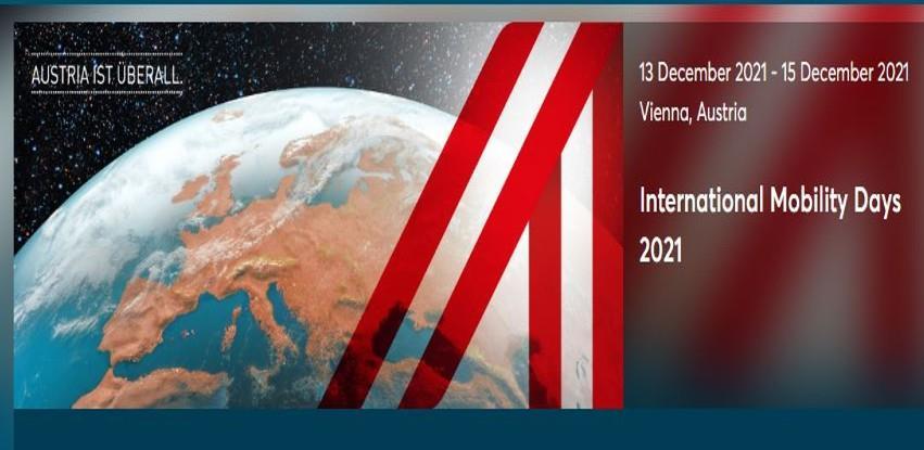 Privredna komora Austrije organizuje International Mobilty Days 2021.