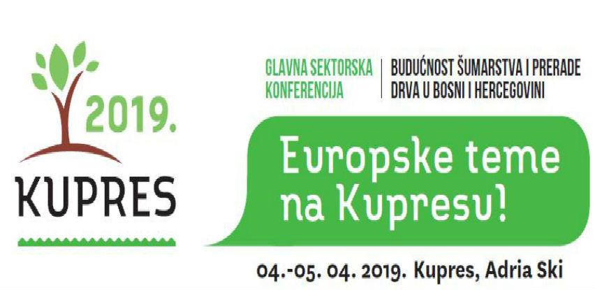 Četvrtakonferencijao šumarstvu i drvnoj industriji: KUPRES 2019