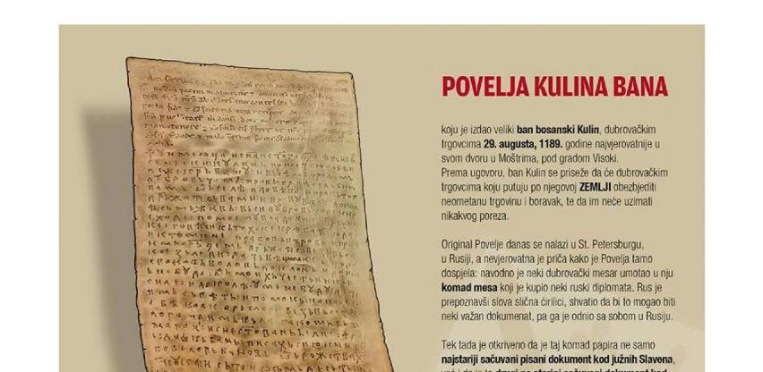 831. godišnjica Povelje Kulina bana: Svjedočanstvo bosanske državnosti