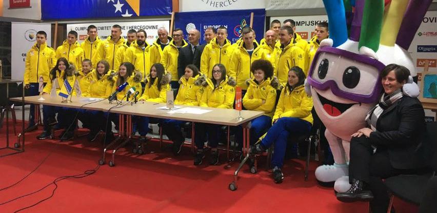 Predstavljeni bh. sportisti koji će učestvovati na EYOF-u
