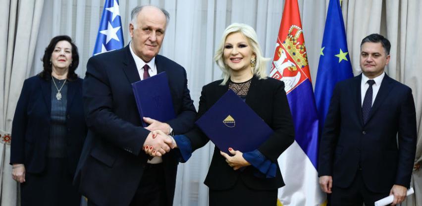 Potpisan Sporazum o suradnji na izgradnji brze ceste Sarajevo - Beograd