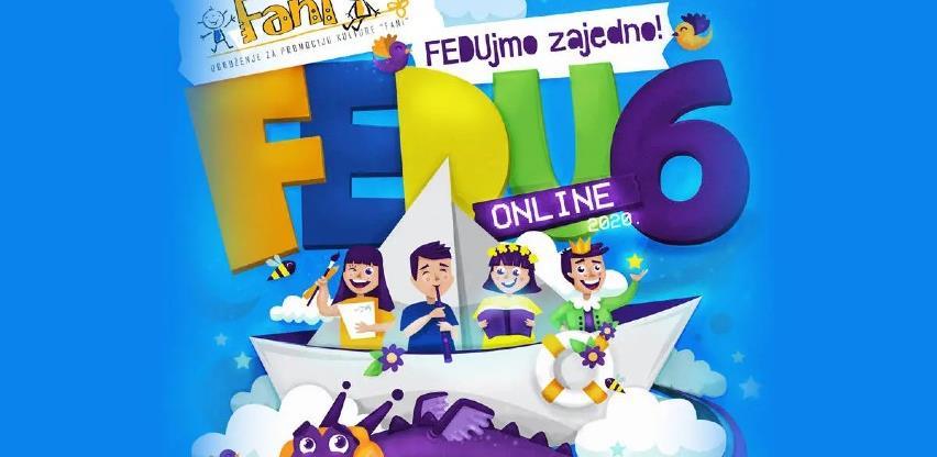 Šesti Festival dječije umjetnosti od 3. do 7. maja putem online platformi