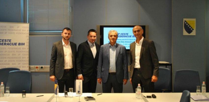 Potpisan ugovor za izgradnju tunela Žaba i dviju cesta na dionici Neum - Stolac
