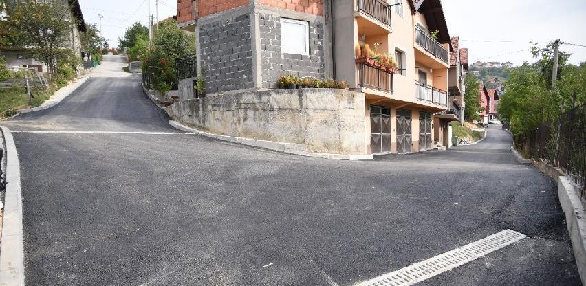 Po prvi put asfaltirana ulica Adnana Žunića u Briješću, riješena i površinska odvodnja