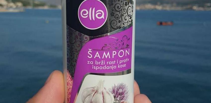 Predstavljen prvi bh. šampon sa češnjakom 'Ella'