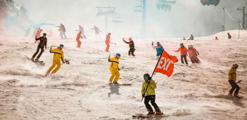 Na Jahorini otvoren Festival 84, Bojan Križaj zapalio olimpijski plamen