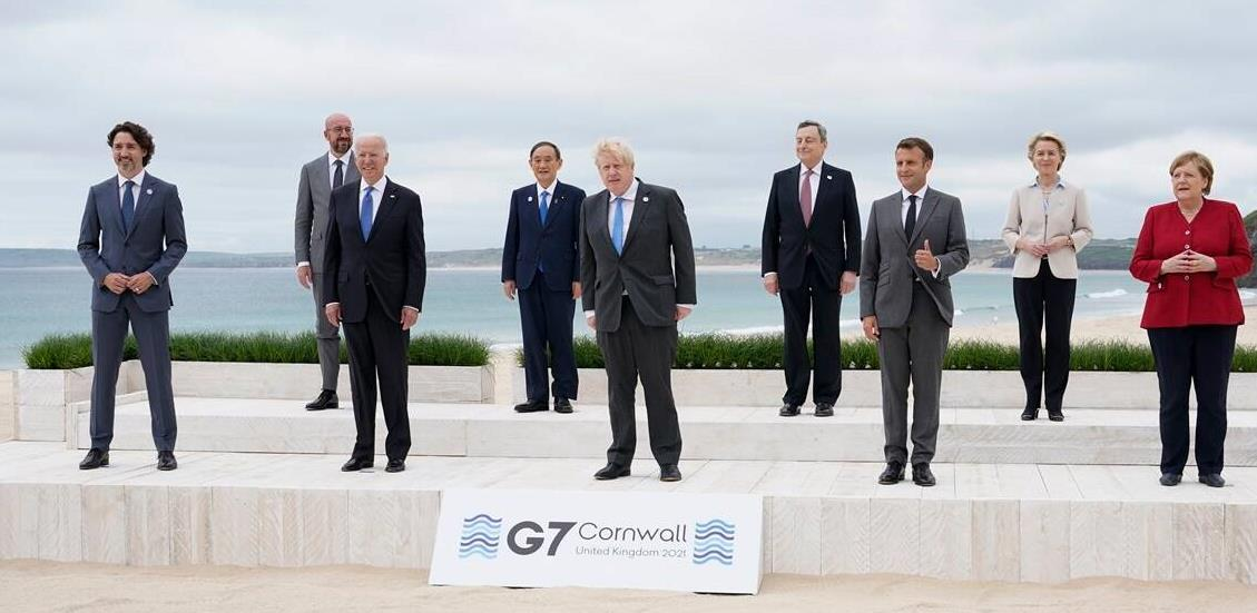 Grupa G7 obećala milijardu vakcina za siromašne