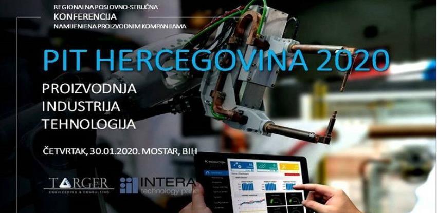 PIT HERCEGOVINA: Jedina poslovno-stručna konferencija za proizvodne firme u BiH