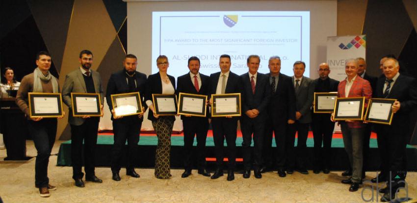 FIPA izabrala 12 najznačajnijih stranih investitora u BiH za 2018.