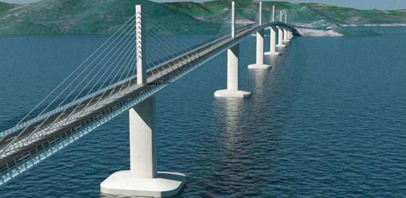 Osam kompanija u drugom krugu za izgradnju Pelješkog mosta
