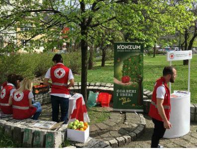 Konzum donirao svježe voće za korisnike Centra za zdravo starenje
