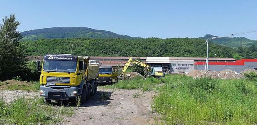 U toku radovi na izgradnji saobraćajnica u Poslovnoj zoni Zenica 1