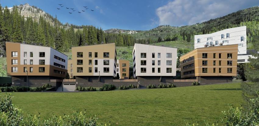 Unioninvest holding počeo gradnju vila Smuk na Bjelašnici