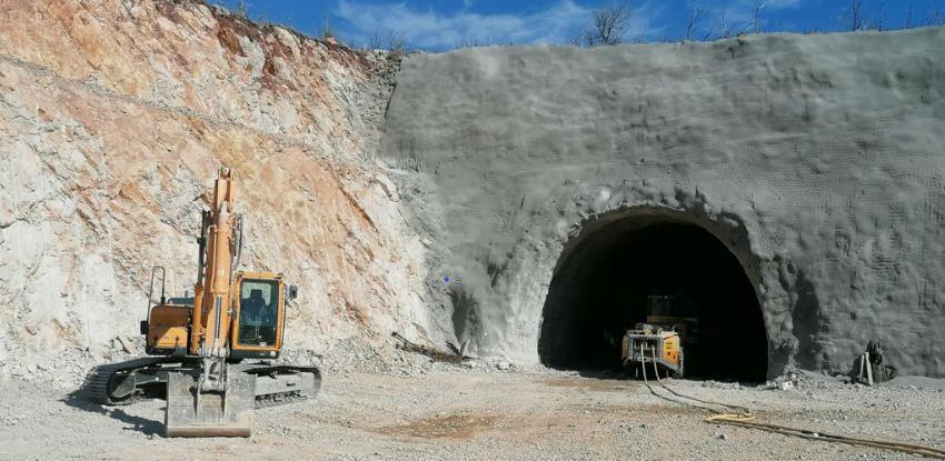 Probijeni prvi metri tunela Počitelj (Foto)