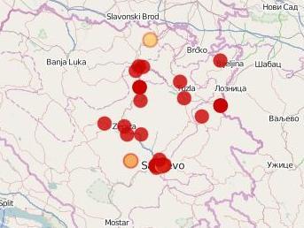 Pokrenuta mapa za prijavu i praćenje elementarnih nepogoda u BiH