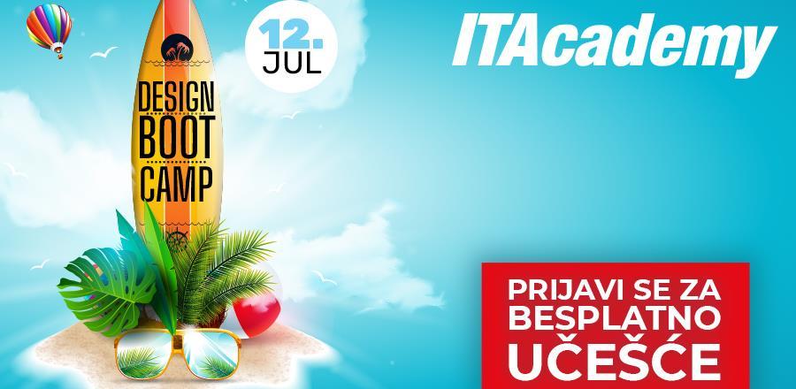 """Dizajnirajte svoje ljeto uz ITAcademy! Prijavite se za besplatan """"Design bootcamp"""" u Sarajevu"""