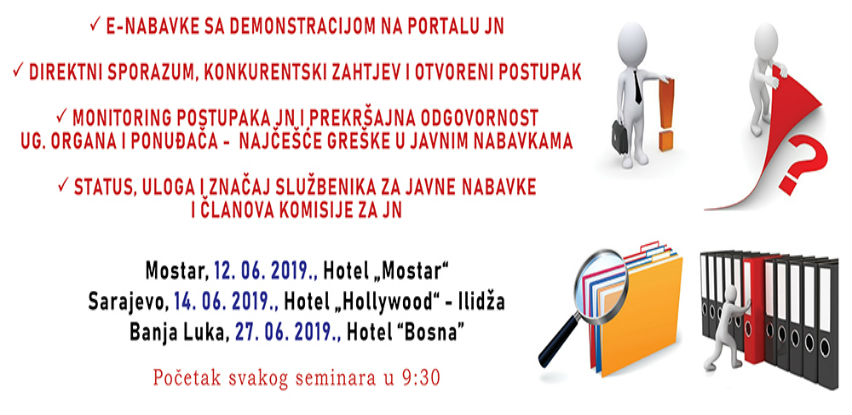 Seminar iz oblasti javnih nabavki