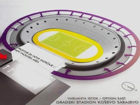 Još uvijek nije izabran glavni investitor za rekonstrukciju stadiona Koševo