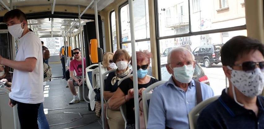 Kontrola i kazne za sve koji ne nose maske u vozilima gradskog prevoza