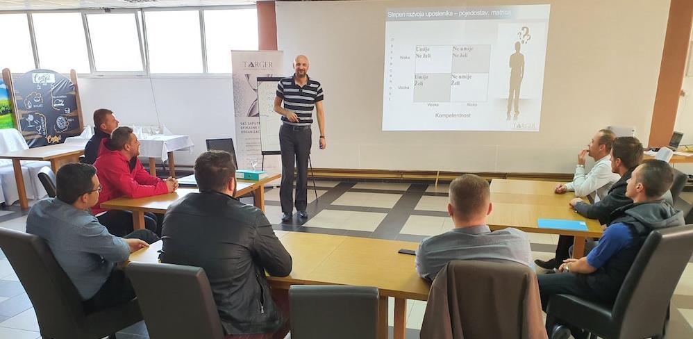 Uspješno okončan trening program namijenjen proizvodnim rukovodiocima