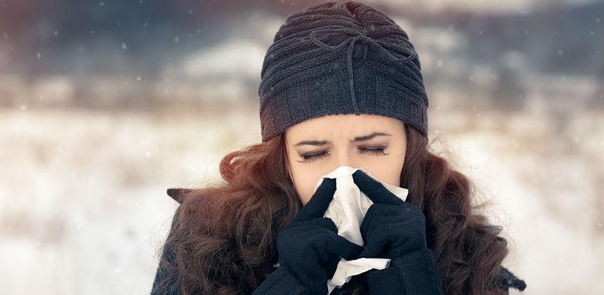 Zimi se često javlja alergija na hladnoću
