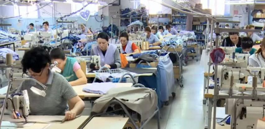 Tekstilna i kožarska industrija BiH prvi put u posljednjih 10 godina zabilježila pad izvoza i uvoza