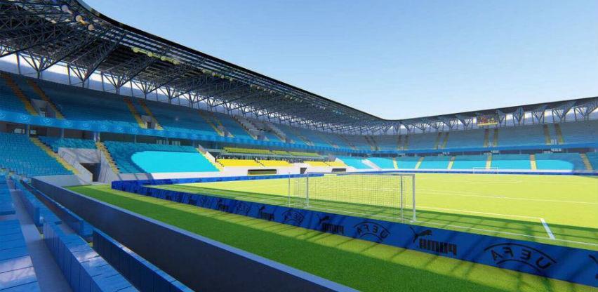 Za gradnju stadiona u Sarajevu potrebno 80 miliona KM