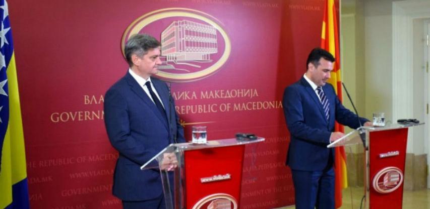 Zvizdić - Zaev: Jačati našu saradnju za dobrobit građana