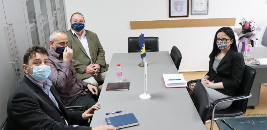 Larson sa zvaničnicima KS: Nastavak saradnje u borbi protiv korupcije
