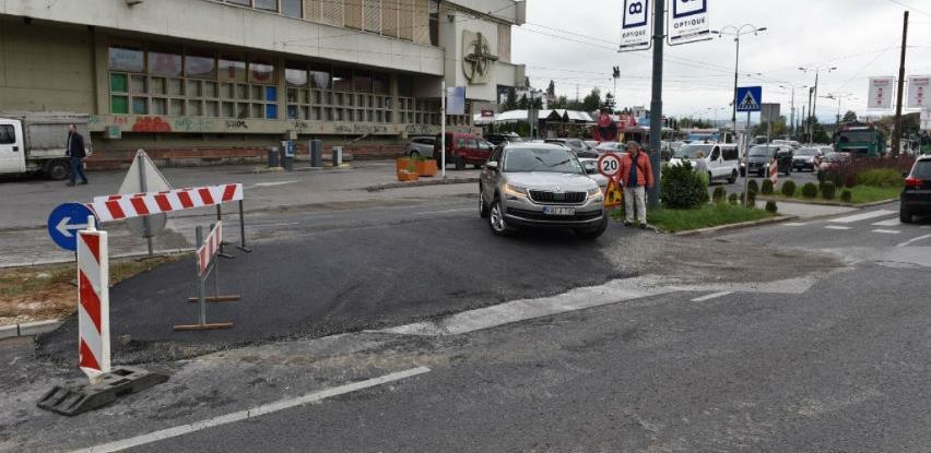 Započeli završni radovi na asfaltiranju saobraćajnice u Ulici Skenderija