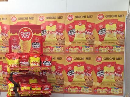 Čačanski proizvod, bh. sirovina: Union Foods distributer čipsa Chips Way