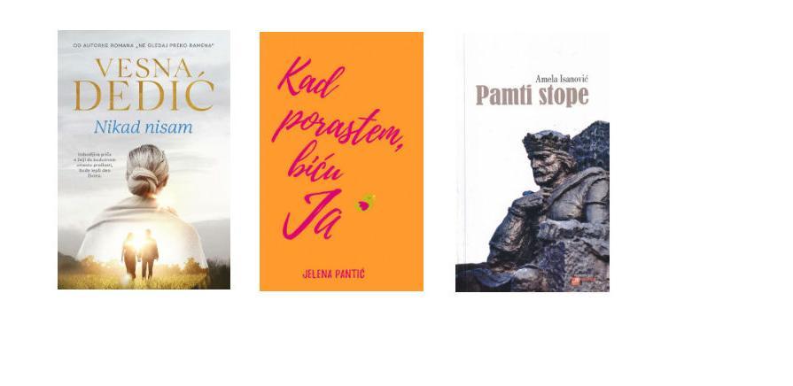 Knjiga.ba: Donosi nove knjige tri sjajne spisateljice