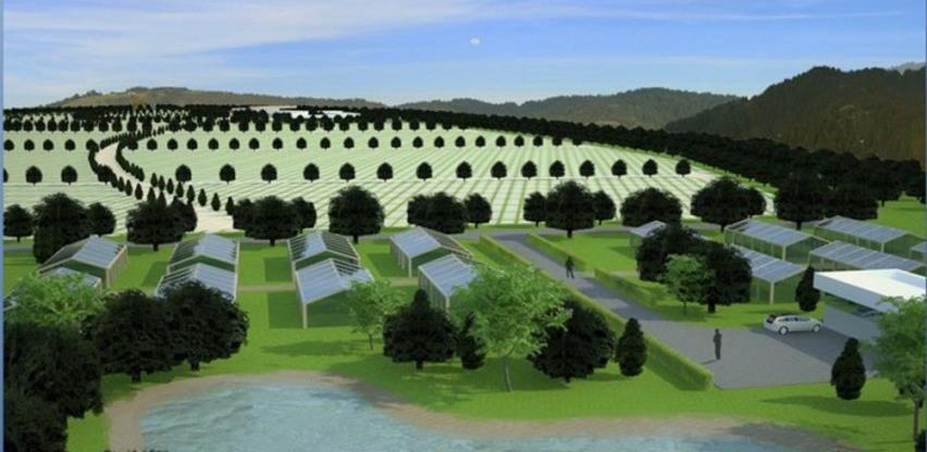 Počela izgradnja velikog gradskog groblja u Tuzli